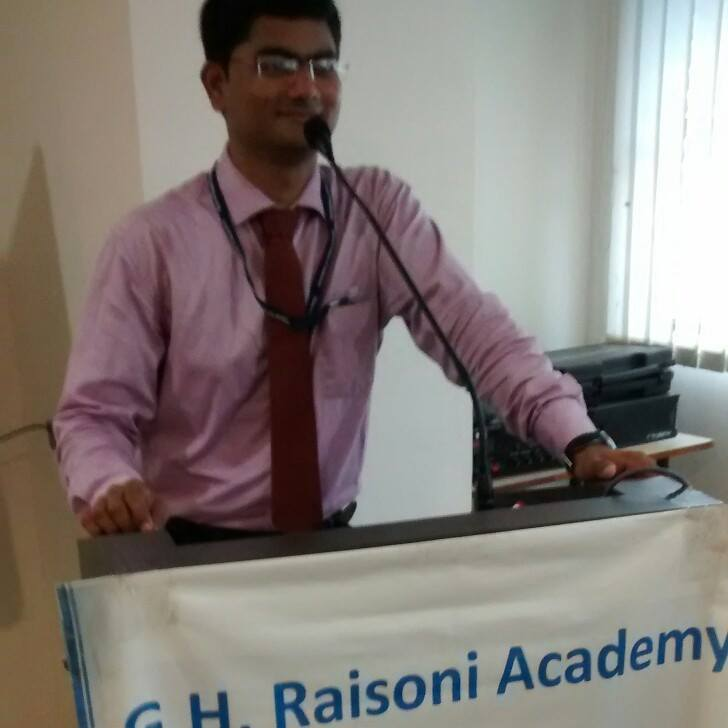Er Mahesh Mangnale, G.H.Raisoni Institute of Infor